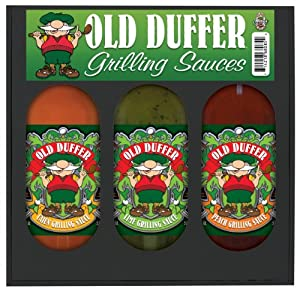 Hsh Old Duffer Grilling Gift Set - 3 Grilling Sauces 3 Packs by Hot Sauce Harry's