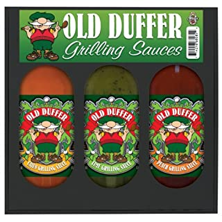 HSH OLD DUFFER GRILLING GIFT SET - 3 Grilling Sauces 3 packs