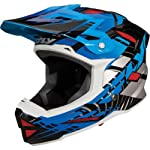Fly Racing Default Adult Full Face Bike Race BMX Helmet - Black/Blue / Small
