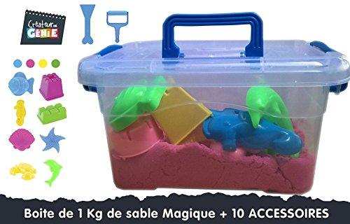 boite-de-1-kg-sable-magique-10-accessoires-orange