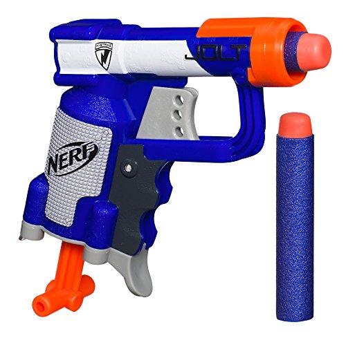 Nerf N-strike Elite Jolt Ex-1 Ultra Small Blaster Cocking Handle 2 Darts