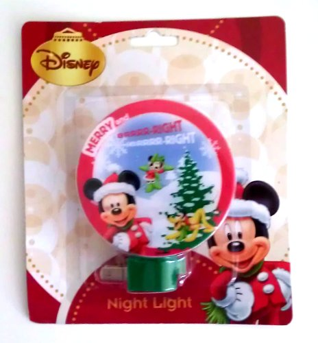 Disney Characters Christmas Night Light Mickey Mouse, Fairies, Princess, Cars (Mickey Mouse) front-649064
