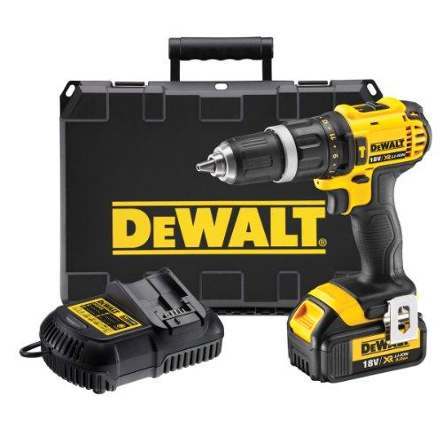 Dewalt DCD785L1 18V XR li-ion 2-Speed Combi Drill (1 x 3AH Battery) (DCD-785-L1)