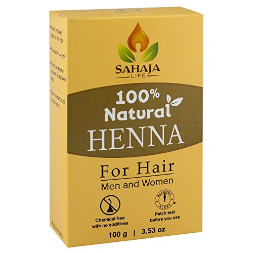 Pure Henna Hair Dye Powder (3.5 Oz) | All Natural, High Pigment Color for Hair, Root Touch Up, Beard & Eyebrows on Men & Women | Includes Bonus Prep Methods Guide (Natural Hair Dye compare prices)