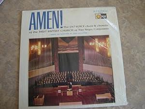 Amen! - First Baptist Church, Van Nuys, Ca. - LP Record