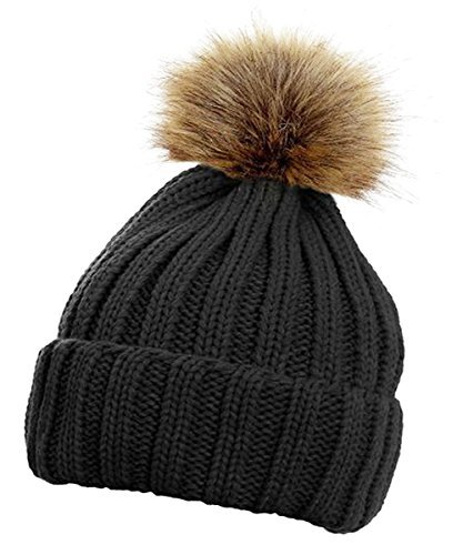 HAT TRICKS by PARIELLA TM Womens Winter Rib Knitted