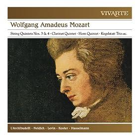 Drei Marsche for 2 Violins, Viola, Violoncello and 2 Horns: Marsch in F Major, K.248 (Instrumental)