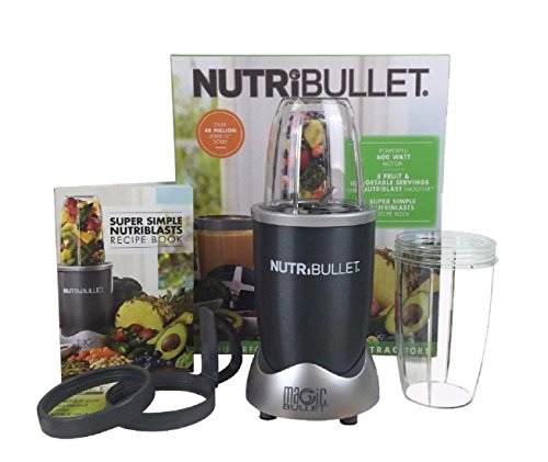 Blender Juicer Combo NutriBullet Magic Bullet 8-Piece Nutrition Extractor Blenders Juicer NBR-8 (Oil Extractor Juicer compare prices)