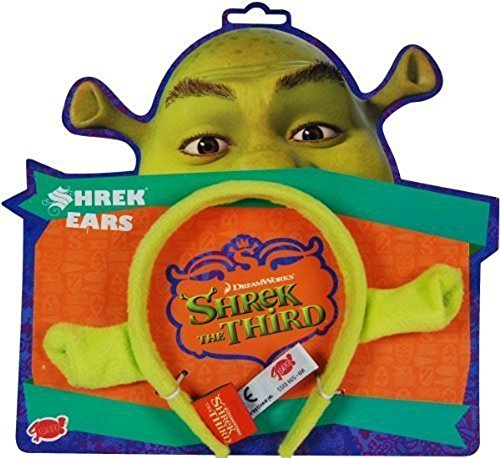 Pms Gosh 4 X Shrek Dressing Up Ears - One Size Fits All