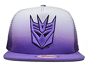 Decepticon GRADE TO VISOR SNAPBACK 9Fifty A-Frame New Era Hat = Med/Large