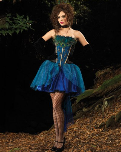 Leg Avenue Womens Deluxe Peacock Princess Costume