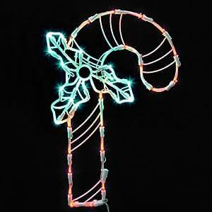Arceau lumineux led pour d coration de no l canne sucre - Decoration de noel amazon ...