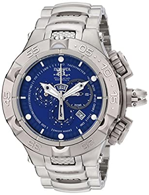 Invicta Men's INVICTA-12885 Subaqua Analog Display Swiss Quartz Silver Watch