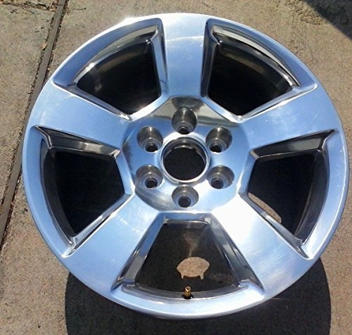 20 INCH 2014 2015 2016 2017 CHEVY TAHOE SUBURBAN SILVERADO 1500 OEM POLISHED ALLOY WHEEL RIM 5652 2093796 20937764 20X9 6X5.5 (Chevy Silverado Rims 20 compare prices)