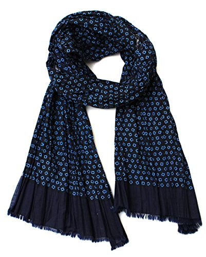 jane-carr-womens-cotton-silk-blend-blue-dot-crinkle-scarf