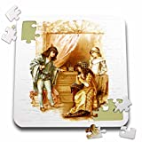VintageChest - Shakespeare - Brundage - The Merchant of Venice - 10x10 Inch Puzzle (pzl_125988_2)