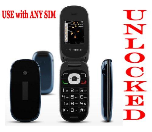 Unlocked Alcatel 665 Flip Phone With Camera ,Internet ,Web, Facebook, Twitter, MP3 player,FM Radio,Bluetooth + Free Pair Of Ear-Plug Headphones