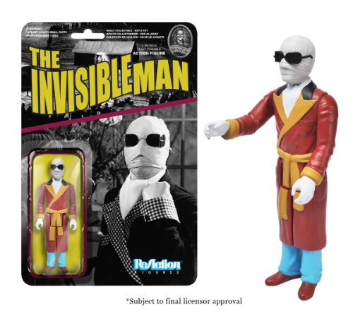Funko Universal Monsters Series 2 - Invisible Man ReAction Figure - 1