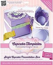 Crafter39s Companion Single Cupcake Presentation Box Template