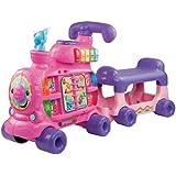 Sit-To-Stand Alphabet Train - Pink