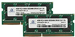Adamanta 8GB (2x4GB) Laptop Memory Upgrade for HP EliteBook 2540p DDR3 1333Mhz PC3-10600 SODIMM 2Rx8 CL9 1.5v Notebook RAM