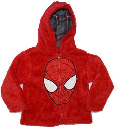 Spiderman Big Head Toddler Fleece Hoodie 1MM6500
