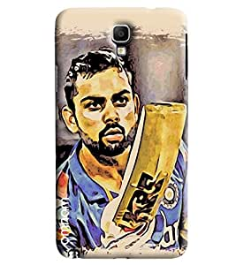 Omnam Virat Kohli Cartoon After His Masterstoke Ton Printed Designer Back Case Samsung Galaxy Note 3 Neo