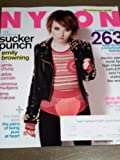 Nylon April 2011 The Stars of Sucker Punch Emily Browning Jamie Chung Abbie Cornish Vanessa Hudgens Jena Malone