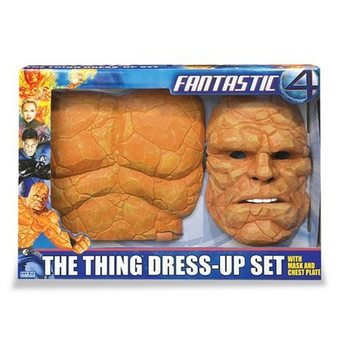 Fantastic 4: Thing Dress Up Set - Mask and Chest Plate (Marvel Dress Up)