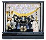 12号伊達兜ケース飾りYN30308GKC しだれ桜 五月人形ケース(木製弓太刀) 五月人形 兜飾り 鎧飾り ケース 伊達政宗 kabuto