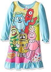 Yo Gabba Gabba Girls' Toddler Girls' Gown, Blue, 2T