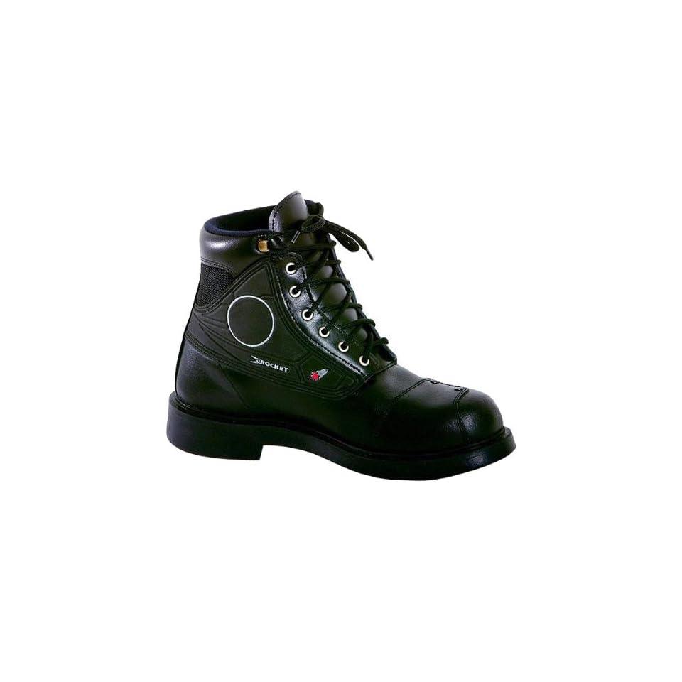 b1b6ccef312 Joe Rocket Orbit Mens Leather Touring Motorcycle Boots Black / Size ...