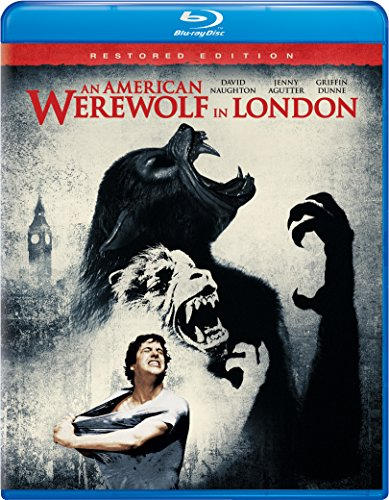 Blu-ray : An American Werewolf In London (Restored, Snap Case, Slipsleeve Packaging)