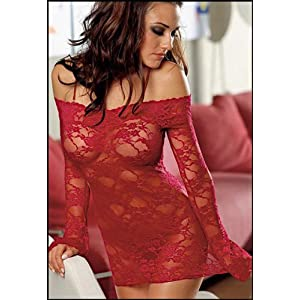 Dreamgirl Women's Stretch Lace Dress   #4208