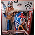 Mattel WWE Wrestling Exclusive Superstar MatchUps Action Figure Mask Rey Mysterio Blue/Black Pants Mask