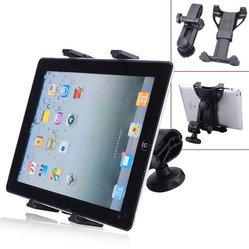 Headrest Tablet Kit 360 Degree Rotation Car Seat Headrest Holder For Ipad Mini/ Ipad - Black