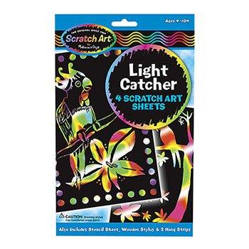 Melissa & Doug Light Catcher Scratch Art Sheets