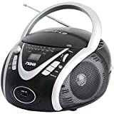 NAXA Electronics NPB-246 Portable MP3/CD Player with AM/FM Stereo Radio and USB Input