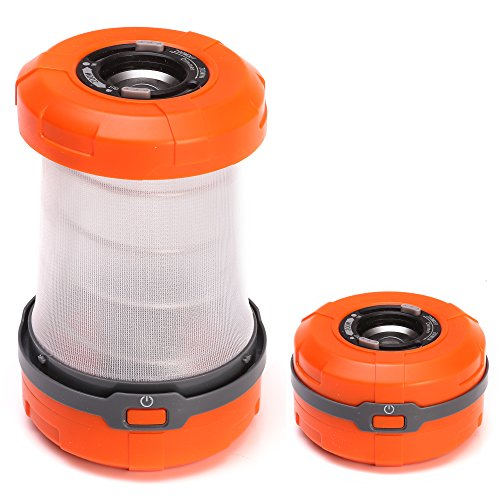 LYNEC Camping Lantern Collapsible LED Lantern Flashlight for Hiking, Camping, Emergencies, Hurricanes
