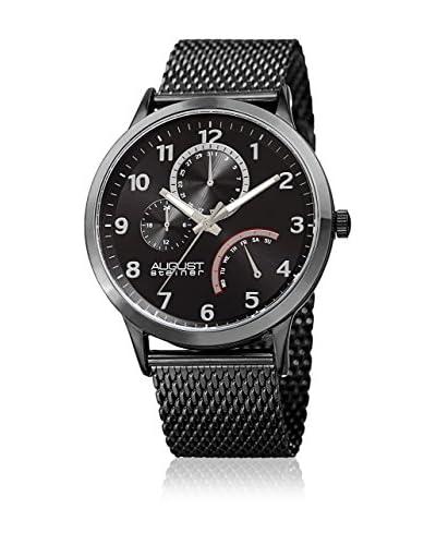August Steiner Reloj con movimiento cuarzo japonés Man AS8230BK 43 mm
