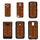 Sweets Biscuits cover case for Samsung Galaxy S5 SM G900 - Black - T1066 - Bourbon