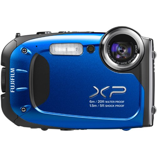 Fujifilm FinePix XP60 16.4MP Digital Camera with 2.7-Inch LCD (Blue)