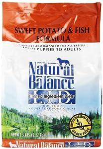 Natural balance sweet potato and fish formula dog food 5 for Natural balance fish and sweet potato
