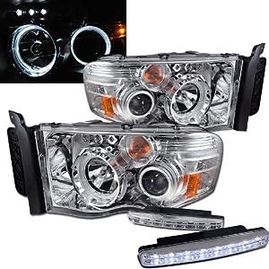 2004 dodge ram 1500 halo headlights projector. Black Bedroom Furniture Sets. Home Design Ideas