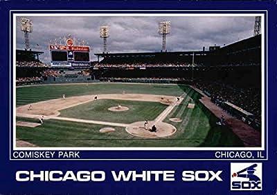 Comiskey Park Chicago White Sox Chicago, Illinois Original Vintage Postcard