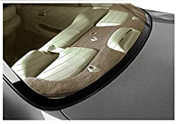 Coverking Custom Fit Dashcovers for Select Cadillac STS Models - Poly Carpet (Tan)