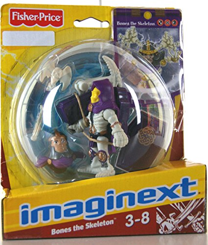 Imaginext Battle Arena Bones the Skeleton
