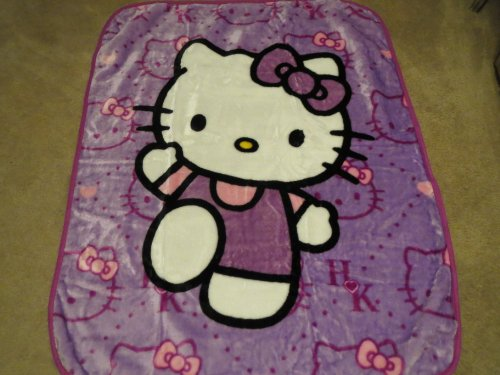 Baby Blanket--Hello Kitty - 1