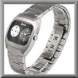 D&G【ドルチェ&ガッバーナ】腕時計 DIG IT 文字盤ブラック メンズ DW0138
