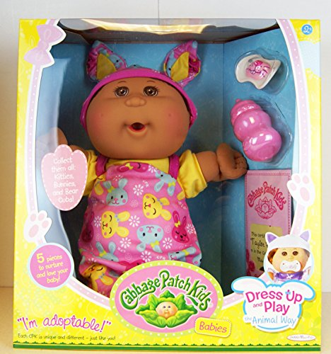 cabbage-patch-kids-babies-dress-up-and-play-the-animal-way-baby-mit-braunen-augen-outfit-mit-hasenmo